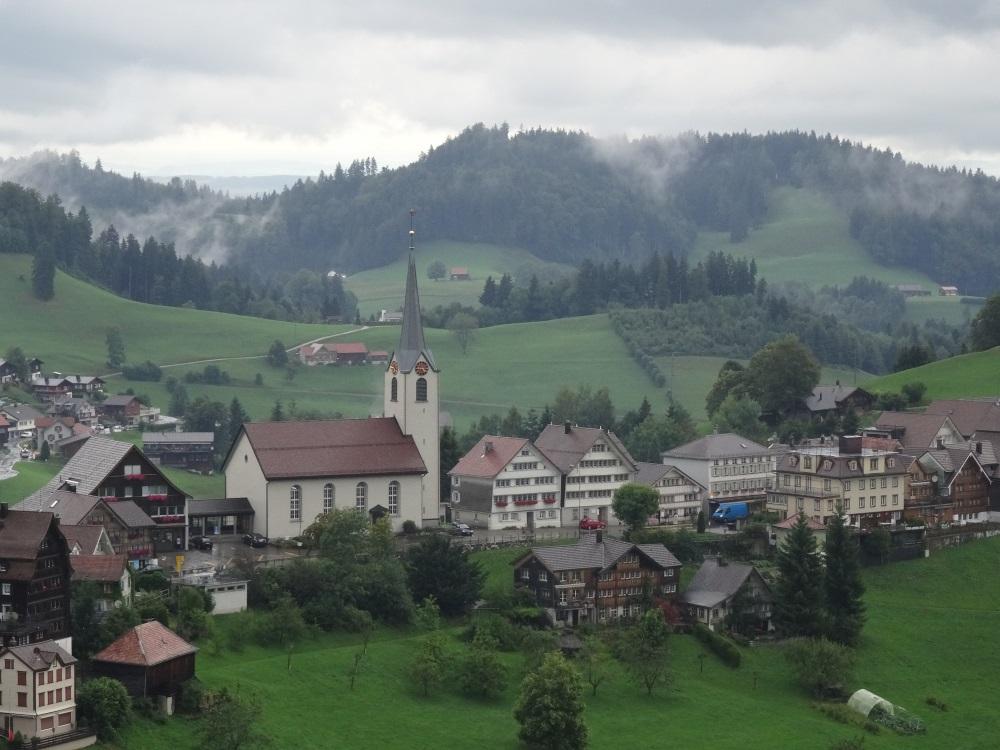 La campagne Suisse